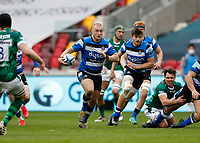27th March 2021; Brentford Community Stadium, London, England; Gallagher Premiership Rugby, London Irish versus Bath;  Jack Walker of Bath running with the ball