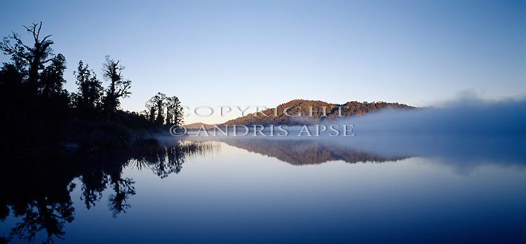 Lake Ianthe. Westland Region. New Zealand.