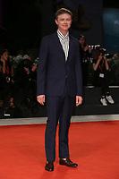 "VENICE, ITALY - SEPTEMBER 05: Dane DeHaan walks the red carpet of the ""ZeroZeroZero"" screening during the 76th Venice Film Festival at Sala Grande on September 05, 2019 in Venice, Italy. (Photo by Mark Cape/Insidefoto)<br /> Venezia 05/09/2019"
