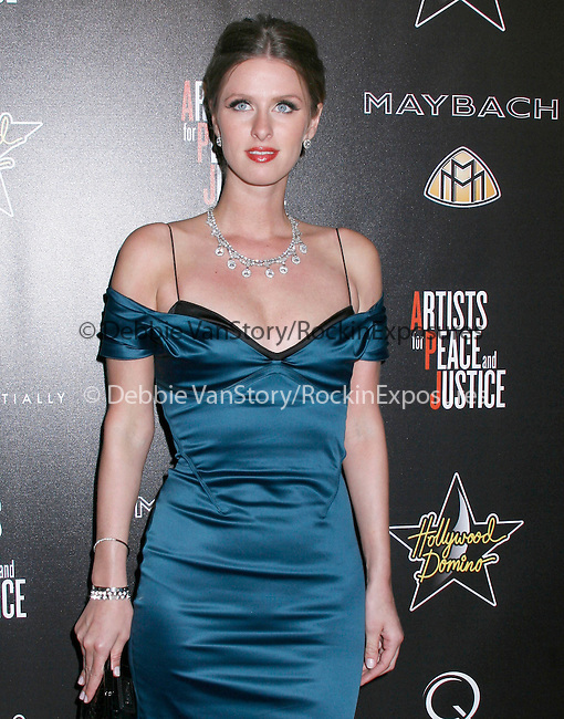 Nicky Hilton at the 3rd Annual Pre-Oscar Hollywood Domino Gala Benefitting Artists for Peace and Justice at Bar 210 at The Beverly Hills Hotel in Beverly Hills, California on March 04,2010                                                                   Copyright 2010 DVS / RockinExposures