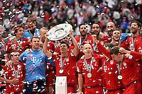 Robert Lewandowski FC Bayern Muenchen <br /> Monaco 23.05.2015, Allianz Arena<br /> Bundesliga Bayern Monaco Campione di Germania 2014/2015 <br /> Foto EXPA/ Eibner-Pressefoto/ Insidefoto