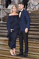 """Aaron Ramsey<br /> arriving for the world premiere of """"Our Planet"""" at the Natural History Museum, London<br /> <br /> ©Ash Knotek  D3491  04/04/2019"""