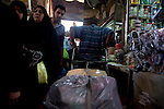 BAGHDAD, IRAQ: Men and women walk through the old Shorja market in Baghdad...Despite an increase in violence across Iraq, daily life continues as normal in Baghdad...Photo by Ali Arkady/Baghdad