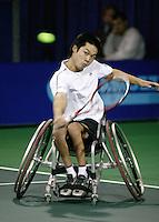 19-11-06,Amsterdam, Tennis, Wheelchair Masters, Shingo Kunieda