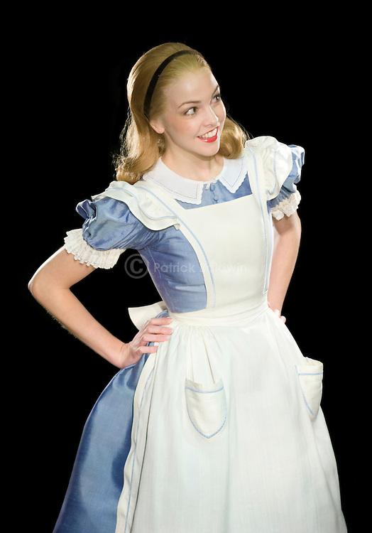 Jennie Harrington as Alice in Wonderland  for English National Ballet.