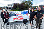 Launching the Paudie Fitzmaurice Tractor Run which is going ahead on Sunday 11th October starting in the Castleisland mart. Front right: Paudie and Mary Fitzmaurice. Back l to r: Laura, Sharon and Ava Fitzmaurice.