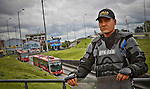 TransMilenio Rapid Transport System units restored after protest by residents in Bogota