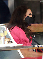 NEW YORK, NY - July 14: Kristin Davis on the set of the HBOMax Sex And The City reboot series 'And Just Like That' in New York City on July 14, 2021. <br /> CAP/MPI/RW<br /> ©RW/MPI/Capital Pictures