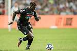 Crystal Palace midfielder Bakary Sako in action during the Premier League Asia Trophy match between West Bromwich Albion and Crystal Palace at Hong Kong Stadium on 22 July 2017, in Hong Kong, China. Photo by Weixiang Lim / Power Sport Images