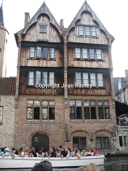 Canal Tour, Brugge, Belgium