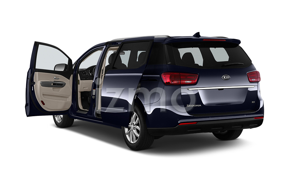 Car images of 2019 KIA Sedona EX 5 Door Minivan Doors