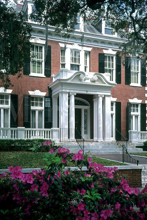 Restored old home in  Savannah, Georgia, USA