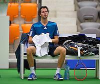 December 16, 2014, Rotterdam, Topsport Centrum, Lotto NK Tennis, Jasper Smit (NED)<br /> Photo: Tennisimages/Henk Koster