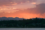 Mountain Sunset in Denver, Colorado, USA John offers private photo tours of Denver, Boulder and Rocky Mountain National Park.