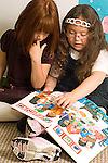 Elementary school classroom children with special needs