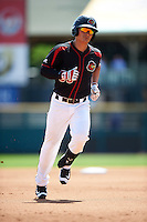Rochester Red Wings third baseman Tommy Field (59) running the bases during a game against the Durham Bulls on July 20, 2016 at Frontier Field in Rochester, New York.  Rochester defeated Durham 6-2.  (Mike Janes/Four Seam Images)