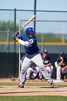 Texas Rangers Kevin Mendoza (39) during an instructional league game against the San Diego Padres on October 9, 2015 at the Surprise Stadium Training Complex in Surprise, Arizona.  (Mike Janes/Four Seam Images)