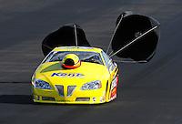 Jul, 22, 2011; Morrison, CO, USA: NHRA pro stock driver Rodger Brogdon during qualifying for the Mile High Nationals at Bandimere Speedway. Mandatory Credit: Mark J. Rebilas-