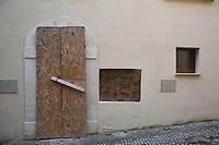 2019. l'Aquila dieci anni dopo il terremoto del 2009 Centro storico