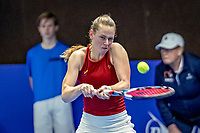 Alphen aan den Rijn, Netherlands, December 18, 2019, TV Nieuwe Sloot,  NK Tennis,	Stephanie Vischer (NED		<br /> Photo: www.tennisimages.com/Henk Koster
