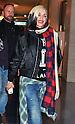 Gwen Stefani arrives at Tokyo International Airport