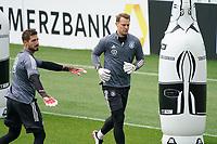 Kevin Trapp (Deutschland Germany), Manuel Neuer (Deutschland Germany) - Seefeld 05.06.2021: Trainingslager der Deutschen Nationalmannschaft zur EM-Vorbereitung
