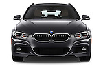 Car photography straight front view of a 2016 BMW 3-Series 328i-xDrive-Sports-Wagon 5 Door Wagon Front View