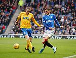 26.12.2019 Rangers v Kilmarnock: Borna Barisic and Iain Wilson