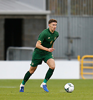 15th November 2020; Tallaght Stadium, Dublin, Leinster, Ireland; 2021 Under 21 European Championships Qualifier, Ireland Under 21 versus Iceland U21; Republic of Ireland captain Conor Masterson brings the ball upfield