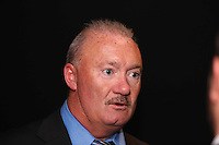 """Pictured: Former club owner Tony Petty. Friday 12 September 2014<br /> Re: Premiere of """"Jack To A King"""" a film about the history of Swansea City Football Club, at The Empire Cinema in Leicester Square, London, UK."""