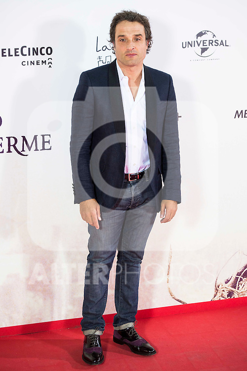 """Daniel Guzman during the premiere of the spanish film """"Un Monstruo Viene a Verme"""" of J.A. Bayona at Teatro Real in Madrid. September 26, 2016. (ALTERPHOTOS/Borja B.Hojas)"""