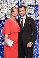 "Taron Egerton and mum, Christine<br /> arriving for the ""Rocketman"" premiere in Leicester Square, London<br /> <br /> ©Ash Knotek  D3502  20/05/2019"