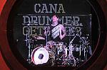 Travis Barker performs live at The Honda Center in Anaheim, California on April 25,2011                                                                   Copyright 2010  DVS / RockinExposures