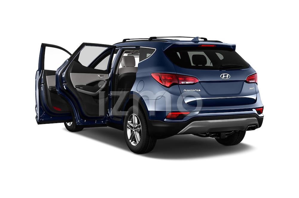 Car images of 2017 Hyundai Santa-Fe Sport 5 Door SUV Doors