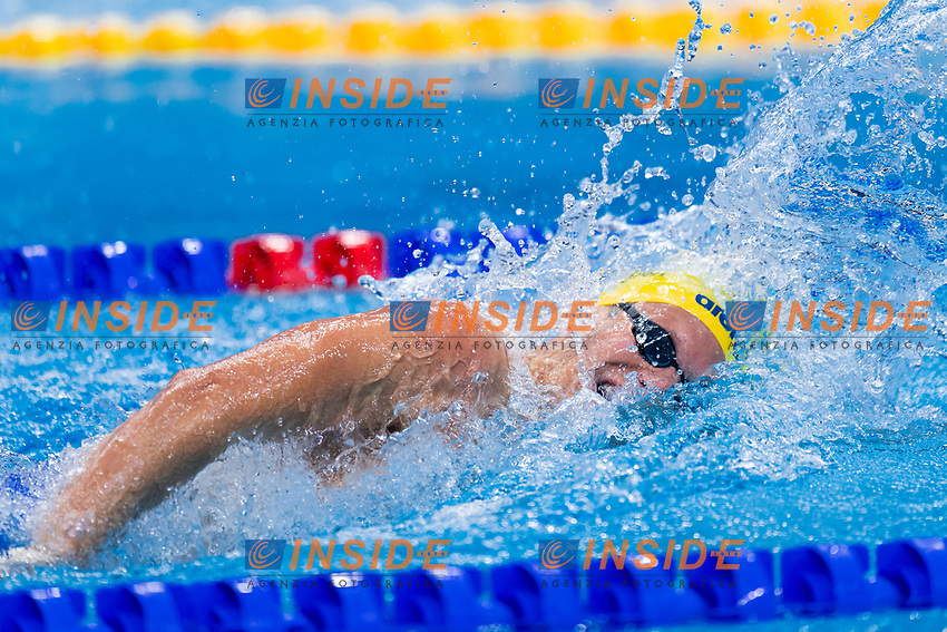PAULSSON Adam SWE<br /> 200m Freestyle Men Heats<br /> Swimming<br /> Budapest  - Hungary  20/5/2021<br /> Duna Arena<br /> XXXV LEN European Aquatic Championships<br /> Photo Giorgio Scala / Deepbluemedia / Insidefoto
