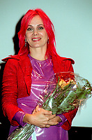 Montreal (QC)CANADA - File Photo- August 29 1996-<br /> Chloee Sainte-Marie  for the premiere of PUDDING CHOMEUR at the Montreal World Film Festival.