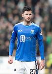 St Johnstone v Celtic…03.02.19…   McDiarmid Park    SPFL<br />Sean Goss<br />Picture by Graeme Hart. <br />Copyright Perthshire Picture Agency<br />Tel: 01738 623350  Mobile: 07990 594431