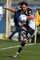 Matteo Darmian of Parma Calcio 1913 in action during the Serie A football match between Parma Calcio 1913 and SSC Napoli at Ennio Tardini stadium in Parma (Italy), September 20th, 2020. Photo Andrea Staccioli / Insidefoto