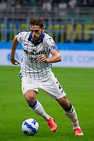 Milan, Italy - september 25 2021 - Serie A match F.C. Internazionale - Atalanta BC San Siro stadium - toloi rafael atalanta bc