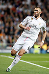 Real Madrid's Benzema during Champions League soccer match at Santiago Bernabeu stadium in Madrid, Spain. March, 10, 2015. (ALTERPHOTOS/Caro Marin)