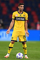 Gaston Brugman <br /> during the Serie A football match between Bologna FC and Parma Calcio 1913 at stadio Renato Dall Ara in Bologna (Italy), September 28th, 2020. Photo Image Sport / Insidefoto
