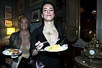 SARA IANNONE CON SERENA PIZZO<br /> CENA DI GALA  PER APERTURA SEDE A ROMA DELLA BANCA BARCLAYS<br /> PALAZZO FERRAJOLI ROMA 2010