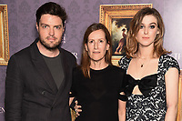 """Tom Burke, Jonna Hogg and Honor Swinton-Byrne<br /> arriving for the UK gala screening of  """"The Souvenir"""" at the Curzon Mayfair, London<br /> <br /> ©Ash Knotek  D3516 27/08/2019"""