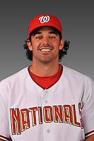 14 March 2008: ..Portrait of Don Levinski, Washington Nationals Minor League player at Spring Training Camp 2008..Mandatory Photo Credit: Ed Wolfstein Photo