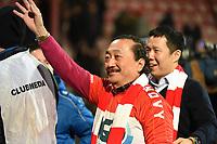 KV KORTRIJK - STANDARD LUIK :<br /> Vincent Tan , eigenaar van KV Kortrijk , na de wedstrijd<br /> <br /> Foto VDB / Bart Vandenbroucke