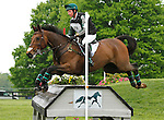 LEXINGTON, KY - APRIL 30: #78 Luckaun Quality and Timothy Bourke compete in the Cross Country Test for the Rolex Kentucky 3-Day Event at the Kentucky Horse Park.  April 30, 2016 in Lexington, Kentucky. (Photo by Candice Chavez/Eclipse Sportswire/Getty Images)