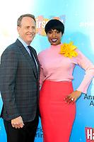 LOS ANGELES - JUN 9:  Bob Greenblatt, Jennifer Hudson at the NBC's 'Hairspray Live!' FYC Event at the ATAS Saban Media Center on June 9, 2017 in North Hollywood, CA