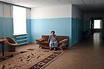 UKRAINE, Myrne: Inside a housing for elderly and disabled people situated at only 3 km from the frontline of Hranitne, 65 km from Mariupol.  All the people inside the place are well treated but the employers are not getting paid since last January as none authorities are taking the responsibility of it...<br /> <br /> UKRAINE, Myrne: Intérieur d'un logement pour les personnes âgées et les handicapés situés à seulement 3 km de la ligne de front de Hranitne,65 km de Mariupol. Tous les résidents sont bien traités, mais les employeurs n'ont pas été payés depuis janvier dernier car aucune autorités prend la responsabilité de cet hospice.