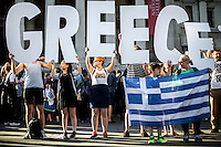"""29.06.2015 - """"Solidarity with Greece - NO to Austerity YES to Democracy!"""""""