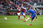 26.02.2020 SC Braga v Rangers: Ianis Hagi fails to convert his spot kick